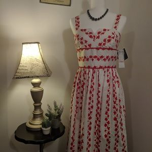 Retro inspired Poppy Dress NWT